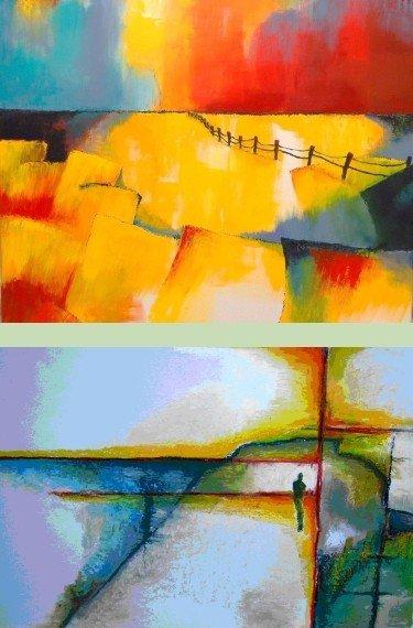 Schilderij Lida Hofstede